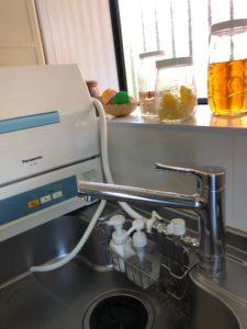 食洗機の設置